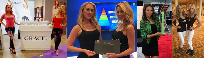 Las Vegas Trade Show Models 3